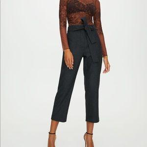 NWOT Aritzia Wool Tie Front Pant 8